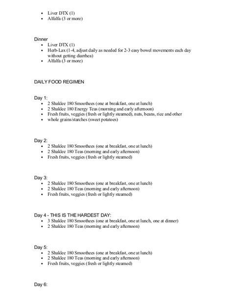 Shaklee 7 Day Detox by 7 Day Detox Shaklee