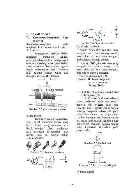 makalah membuat robot contoh makalah line follower analog sederhana