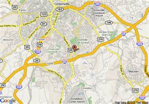 greenville carolina map map of quality inn and suites greenville