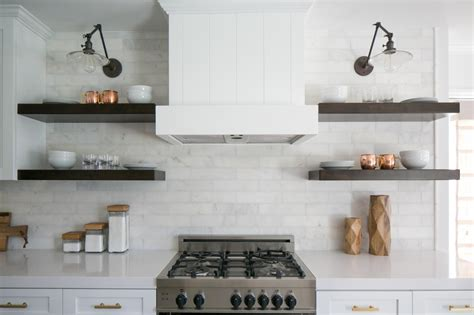 open kitchen shelves the benefits of open shelving in the kitchen hgtv s