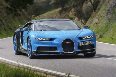bugatti chiron crash driver crashes bugatti chiron into a ditch motor trend