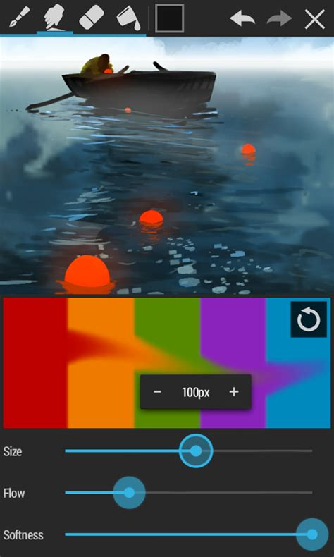tutorial smudge sketchbook apk artflow paint draw sketchbook download install