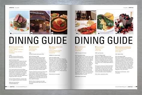 design lifestyle magazine o2creative lifestyle magazine retail publication design