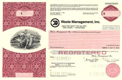 Waste Management Background Check Waste Management Inc Delaware