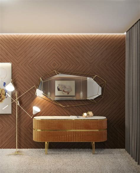 decorare una parete come decorare una parete scura spazi di lusso