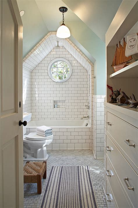 attics turned  breathtaking bathrooms
