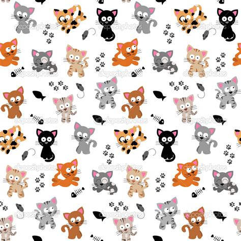 cute pattern cats depositphotos 23299734 cute cat themed seamless background