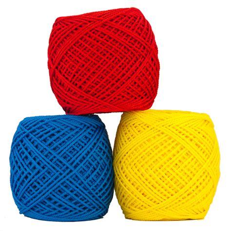 Benang Rajut Besar 1warna benang rajut polyester besar crafts