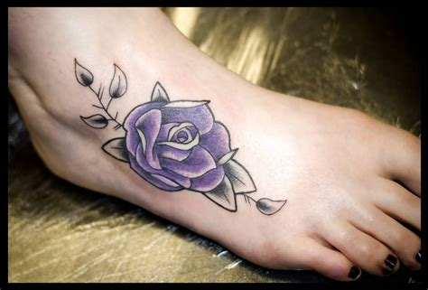 rose tattoo designs for foot 30 beautiful flower tattoos ideas for foot