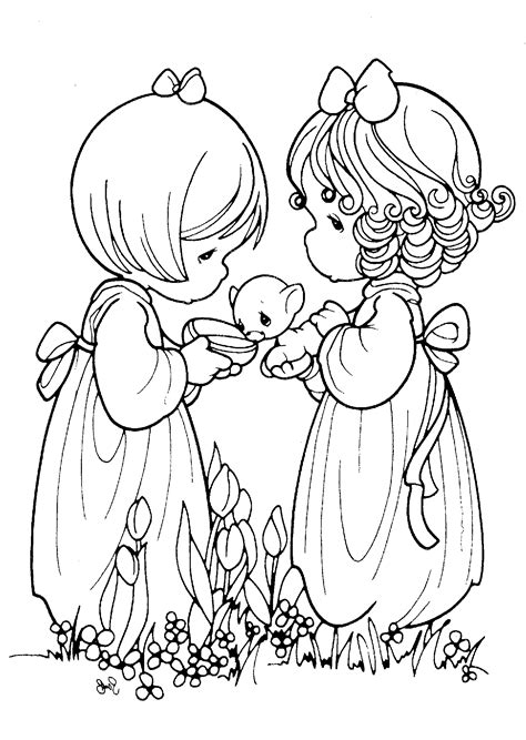 Pritable Precious Moments Coloring Pages Coloring Me Coloring Page Of A