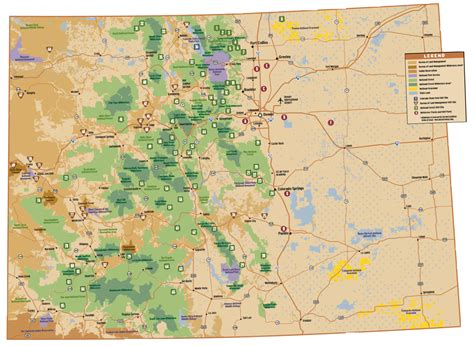 colorado jeep trail maps map of 85 best roading trails in colorado big