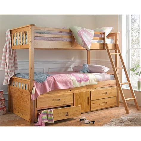 Cheapest Bunk Beds Uk Cheap Heartlands Captains Wooden Bunk Bed Frame For Sale At Discounted Prices