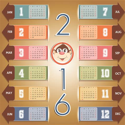 Calendario 3d 2016 2016 Year Calendar Wallpaper Free 2016 Calendar