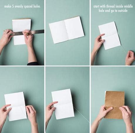How To Make A Notebook Out Of Paper - 5 minute bookbinding paperblog