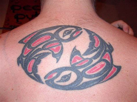 salmon tattoo designs haida designs ideas images photos pictures