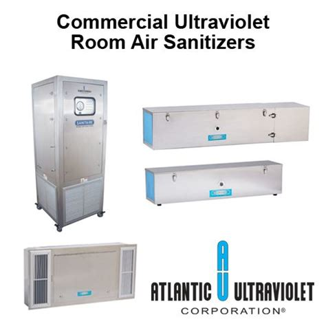 uv room air disinfection products  atlantic ultraviolet