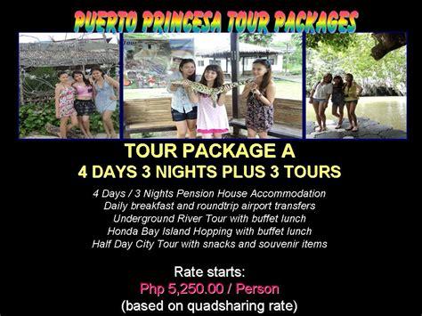 3d2n Standard Room Breakfast 3 Pax promo palawan tour package
