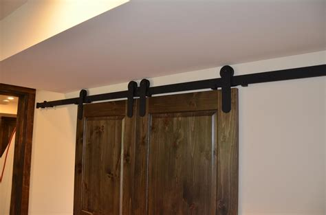 Barn Door Track System Mikron Woodworking Machinery Inc Barn Door Track Systems