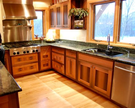 douglas fir kitchen cabinets timber frame cabinetry new energy works