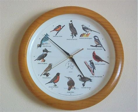 easy instructions to reset my singing bird clock
