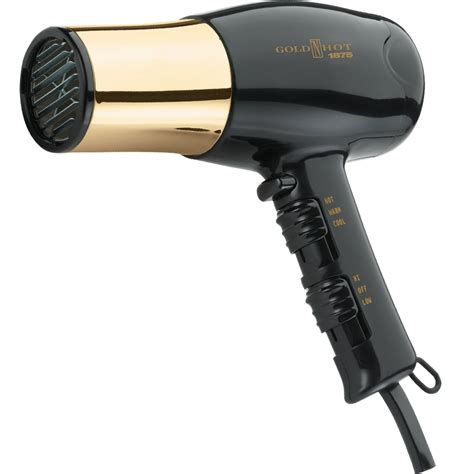 Hair Dryer Pik Attachment gold n professional 1875w dryer with styling pik gh8135