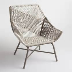 modern wicker patio chairs gray andalusia woven chair