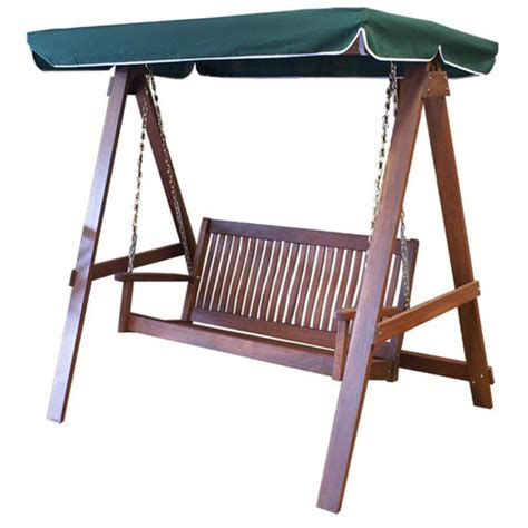two seater swing with canopy morton 2 seater hardwood swing with canopy temple webster