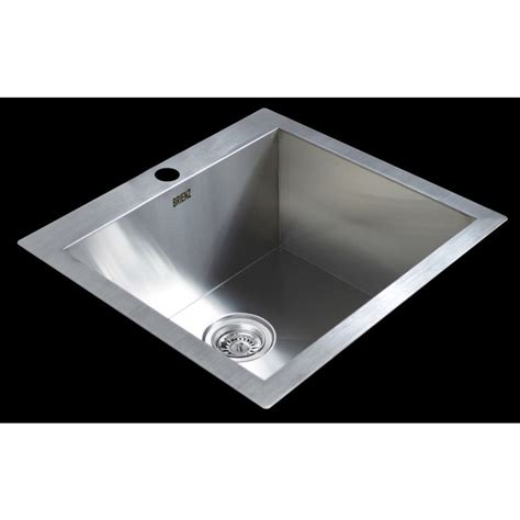 stainless steel top mount kitchen sink 530x505mm buy