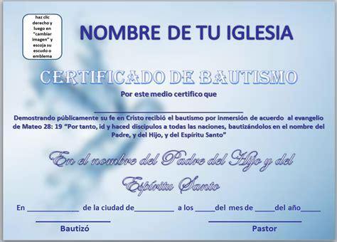 certificados de escuela dominical certificado de bautismo para bajar pictures to pin on