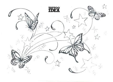 tatuaggi tribali con fiori e farfalle tatuaggi farfalle e stelle diffusione e significato non