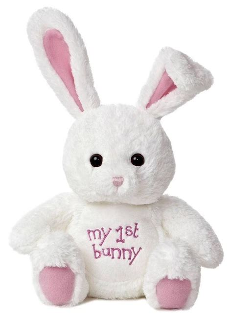 easter plush animals 10 quot plush white bunny rabbit easter stuffed animal