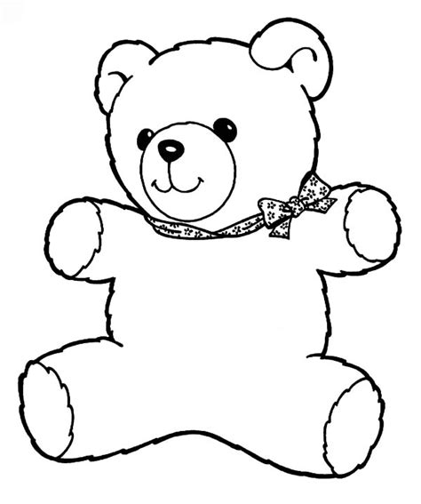holidays coloring pages teddy bear the best place for coloring page at coloringsky part 17