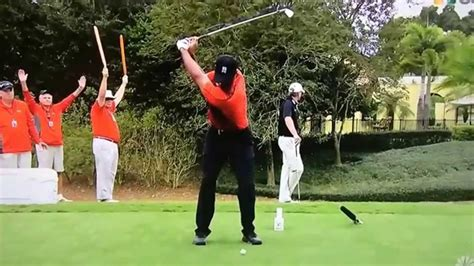 tiger woods perfect swing tiger woods 5 iron fo slow motion youtube