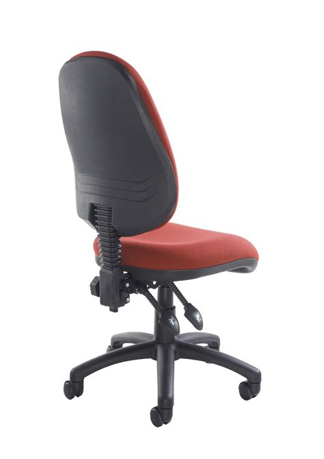 desk chair no arms vantage 100 operator chair 2 lever fabric no arms red www