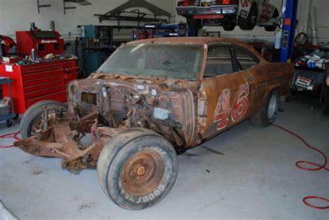 old nascar race car barn finds bat reader mail 60 day nascar impala restoration bring