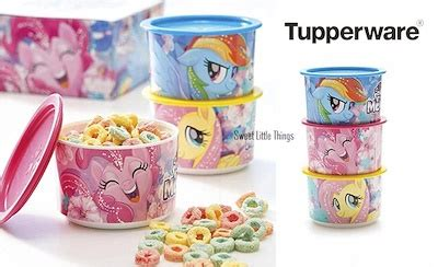 Tupperware My Pony Canister 3pcs qoo10 tupperware my pony canister set of 3 kitchen dining
