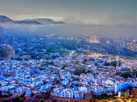 morocco blue city 5 five 5 chefchaouen morocco