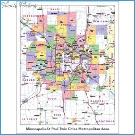map of minneapolis area map of minnesota suburbs afputra