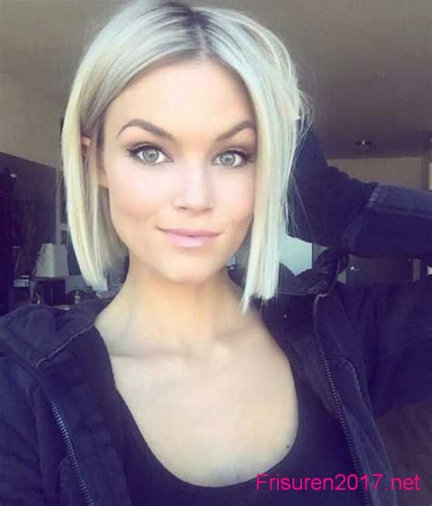 trendfrisuren kurze haare kurzhaarfrisuren bob frisuren 2017 damen