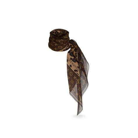 leopard and monogram scarf accessories louis vuitton