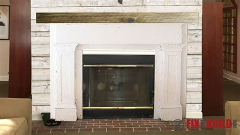 Diy Fireplace Mantel Surround by Build A Fireplace Surround And Mantel Fixthisbuildthat