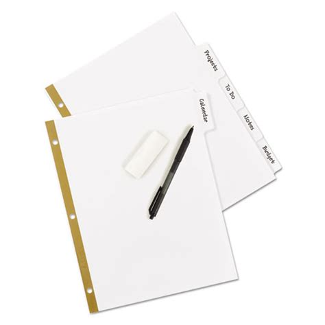how to erase pen writing from paper write erase big tab paper dividers 5 tab letter zerbee