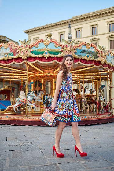 fashionista chlo 235 sterk dolce gabbana dress dolce gabbana bag laurent heels dolce