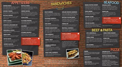 menu layout psychology how to properly design a restaurant menu kevin dyke