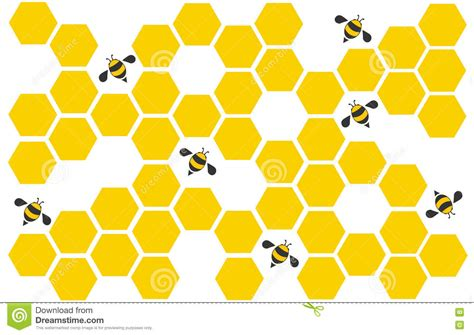 background pattern hive vector template 187 space vector hexagon free vectors