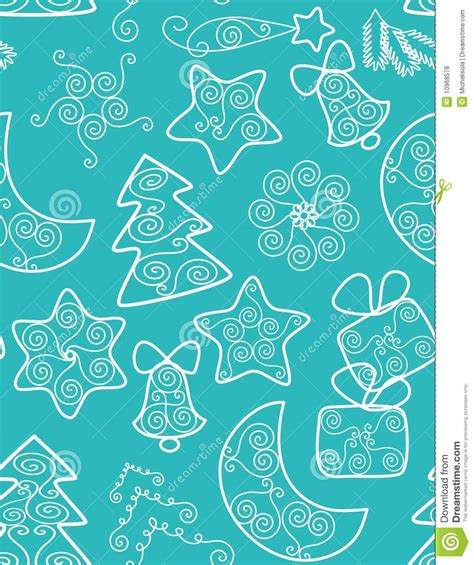 seamless christmas pattern vector christmas background seamless pattern stock vector