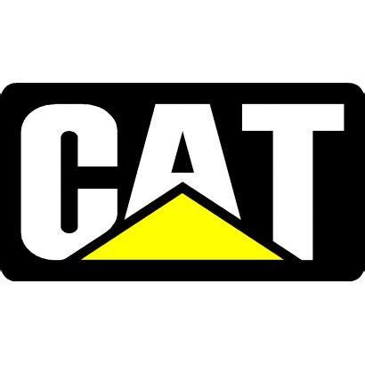 Cat Consruction caterpillar logo decal 4