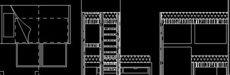 bunk bed  dwg block  autocad designs cad