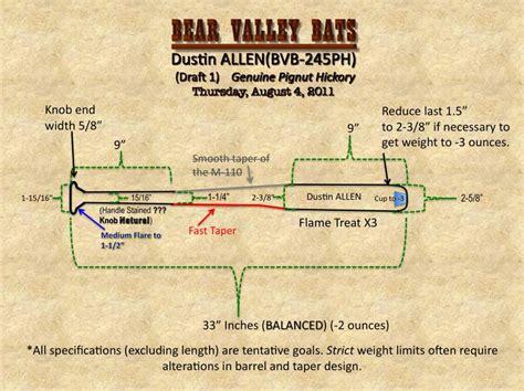 baseball bat diagram how to make a wooden baseball bat project pdf