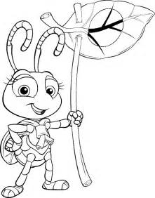 And Insects Colouring Pages sketch template